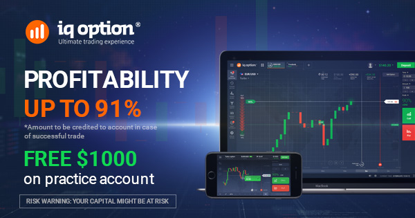 Successful IQ Option Stock No Deposit Required Advertising - UK